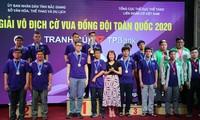 400 Spieler nahmen am nationalen Schachmeisterschaft Cup TPBank 2021 Teil