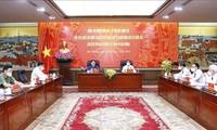 Parlamentspräsident Vuong Dinh Hue tagt mit Vertretern der Parteileitung der Stadt Hai Phong