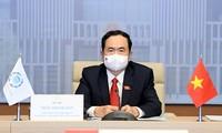 Delegation des vietnamesischen Parlaments nimmt an Eröffnungsfeier der 207. Sitzung des IPU-Exekutivrats teil