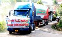 Bewältigung der Schwierigkeiten, Förderung des Exports von Agrarprodukten