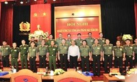 Staatspräsident: Volkspolizei berät Partei und Staat über Strategie zum Schutz von Hoheit und nationale Sicherheit