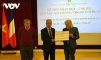 Deutschland und vietnamesische Gemeinschaft in Frankreich unterstützen Vietnam bei Covid-19-Bekämpfung