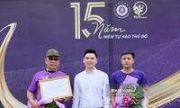 Fußballklub Hanoi FC feiert das 15. Gründungstag