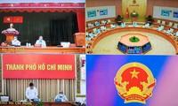 Forschung von effektiven Maßnahmen zur Covid-19-Bekämpfung in Ho Chi Minh Stadt und in umliegenden Gebieten
