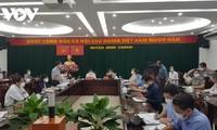 Vizepremierminister Vu Duc Dam überprüft die Covid-19-Prävention und –Bekämpfung in Ho Chi Minh Stadt