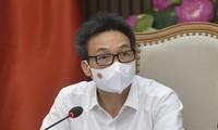 Tagung des Nationalverwaltungsstabs für Covid-19-Prävention und -Bekämpfung mit Ho Chi Minh Stadt