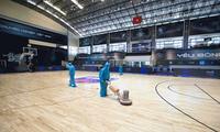 Ausbau der Sporthalle für professionelles Basketballturnier Vietnams 2021