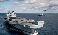 Britische und indische Marine führen gemeinsames Manöver durch
