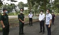 Vizepremierminister Vu Duc Dam tagt mit Provinz Binh Phuoc über Covid-19-Prävention und -Bekämpfung