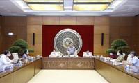 Parlamentspräsident Vuong Dinh Hue fordert frühe Gesetzgebung