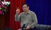 Premierminister Pham Minh Chinh tagt mit Leitern der Provinz Binh Duong