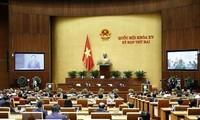 Eröffnung der zweiten Sitzung des Parlaments der 15. Legislaturperiode