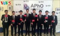 Vietnam wins big at 18th Asian Physics Olympiad