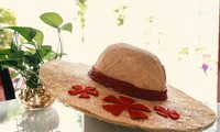Ben Tre-born student turns coir into hats