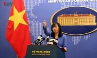 Vietnam protests China's military drills on Hoang Sa archipelago