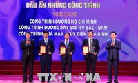 Prominent national projects honored