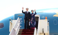 President Tran Dai Quang begins Egypt visit