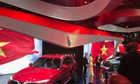 First made-in-Vietnam cars roll out at Paris Motor Show