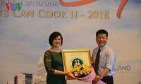 Cooking competition reinforces friendship among diplomats