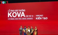 Kova prize acknowledges outstanding research projects