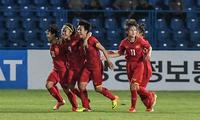 Vietnam's women football tops Southeast Asia