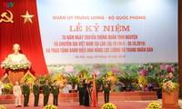Vietnamese volunteer soldiers, experts in Laos honored