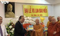 Government leader extends greetings to Buddhist dignitaries on festival of filial piety