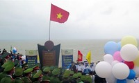 New Year flag-salute ceremony held on easternmost point