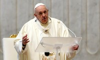 Pope reappears after pain flare-up, calls for peace in New Year message