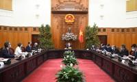 PM hosts ambassadors, heads of UN agencies in Vietnam
