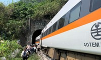 Taiwan (China) train crash kills 36 in deadliest rail tragedy in decades