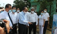 State President inspects COVID-19 prevention and control in Da Nang