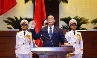 Vuong Dinh Hue elected Chairman of 15th National Assembly