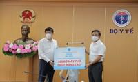 Petrovietnam donates high-performance ventilators to Health Ministry for COVID-19 treatment