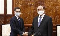 President hosts Indian Ambassador