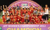บอลหญิงเวียดนามครองแชมป์อาเซียน2012