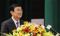 ประธานประเทศพบปะกับอดีตทหารป้องกันอากาศยาน