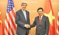 ภารกิจของรัฐมนตรีต่างประเทศสหรัฐจอห์นแคร์รี่ในเวียดนาม