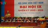 นำขบวนการนักศึกษาเวียดนามพัฒนาขึ้นสู่ขั้นสูงใหม่
