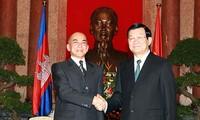 เวียดนาม-กัมพูชาพัฒนาความสัมพันธ์มิตรภาพและความร่วมมือในทุกด้าน