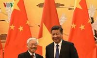 ภารกิจของท่านเหงวียนฟู้จ๋องเลขาธิการใหญ่พรรคฯในประเทศจีน