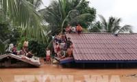 ชมรมชาวเวียดนามในเขตที่ประสบภัยเขื่อนแตกในลาวปลอดภัย