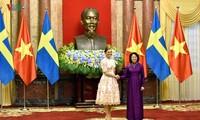 เจ้าหญิง วิกตอเรีย อิงกริด อลิซ เดซิเร มกุฎราชกุมารีแห่งสวีเดน เสด็จเยือนเวียดนาม