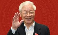 เลขาธิการใหญ่พรรค ประธานประเทศเหงวียนฟู้จ่องส่งจดหมายถึงเด็กๆทั่วประเทศอวยพรวันสารทไหว้พระจันทร์