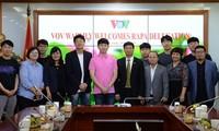 VOV-RAPA ผลักดันโอกาสร่วมมือด้านการผลิตรายการวิทยุ-โทรทัศน์