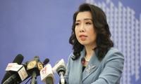 เวียดนามแสดงท่าทีต่อการที่จีนจัดการซ้อมทางทหารอย่างผิดกฎหมายที่หมู่เกาะหว่างซา