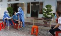 ตรวจคัดกรองผู้ป่วยโควิด-19 ในชุมชน