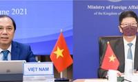 ประชุมทาบทามทางการเมืองประจำปีครั้งที่ 8 ระดับรัฐมนตรีช่วยกระทรวงการต่างประเทศเวียดนาม-ไทย