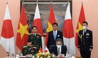 ความร่วมมือด้านกลาโหมเวียดนาม-ญี่ปุ่นก้าวเข้าสู่ระยะพัฒนาใหม่