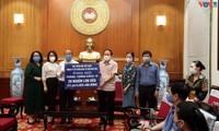 สถานีวิทยุเวียดนามเดินพร้อมกับโครงการช่วยเหลือประชาชนในเขตที่เกิดการแพร่ระบาด